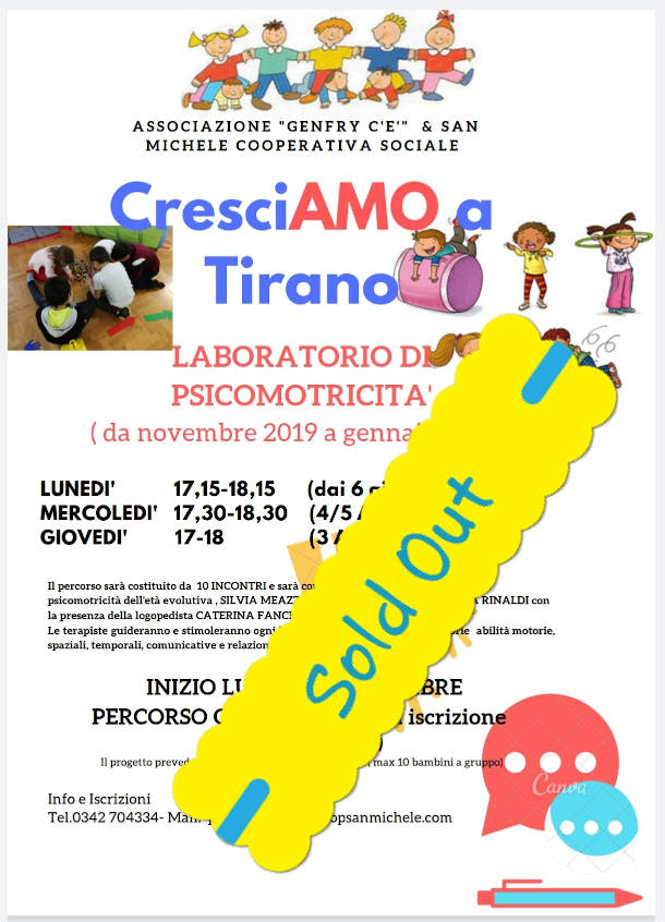 /cresciamo a tirano, sold out