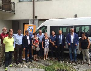 Ufficio Di Piano Tirano : Automezzo per il servizio di trasporto sociale consegnate le
