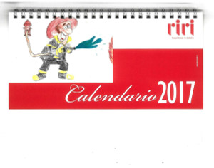 Calendario Titti Bianchi.Riri La Sicurezza In Azienda Realizzato Un Calendario