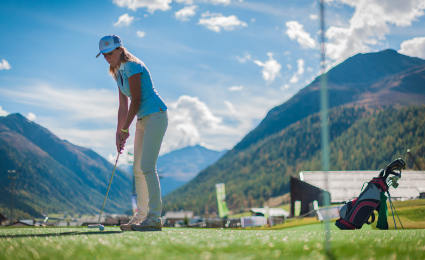 golf livigno