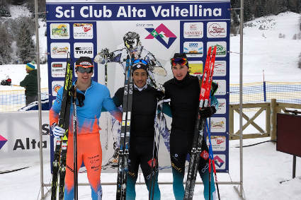 Podio Senior M Sprint Valdidentro Continental Cup